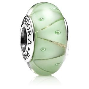 Pandora Green Murano Glass Charm